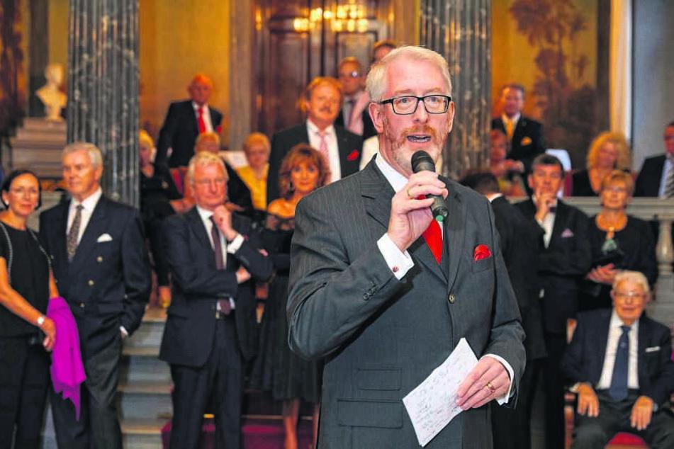 Juwelier Georg Leicht (54) feiert auf Schloss Albrechtsberg sein 20-jähriges Jubiläum als Reiseveranstalter.
