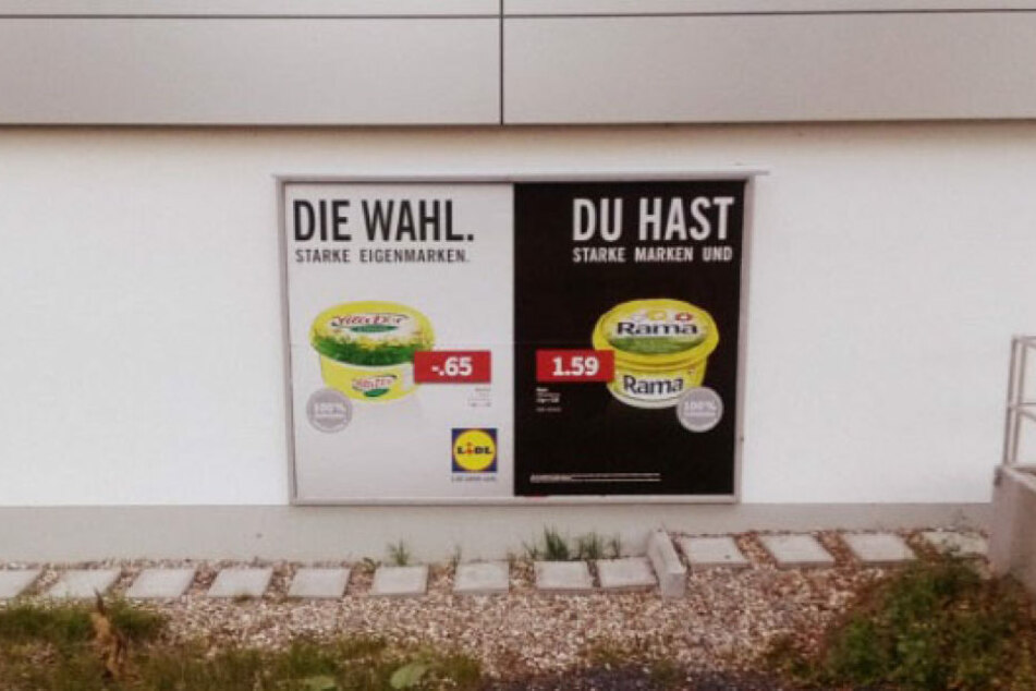 Lidl Werbung Berlin