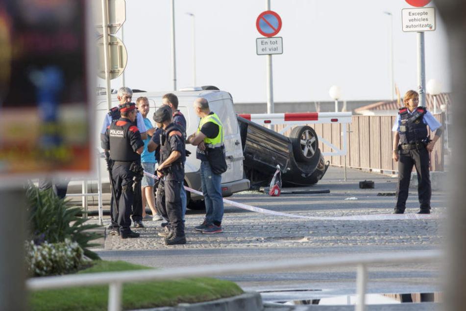 Der zweite Tatort liegt 100 Kilometer südlich von Barcelona. Hier wurden fünf mutmaßliche Terroristen erschossen.