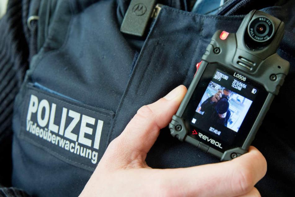 Seit April werden in Thüringen die Bodycams bei der Polizei getestet.