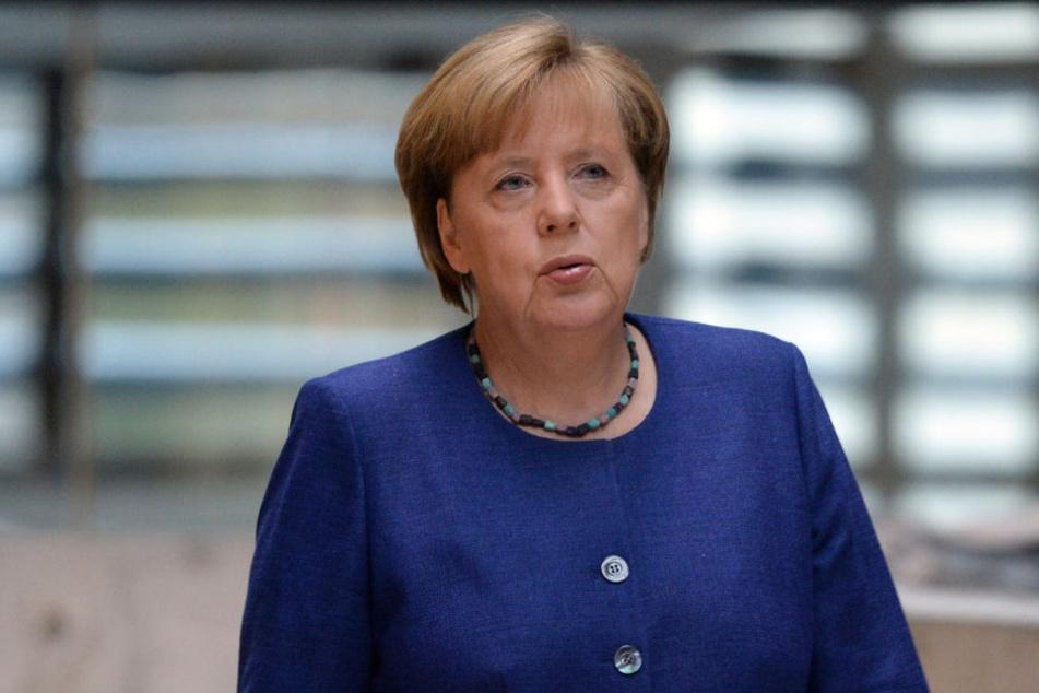 Will auch die Internet-Kids im Wahlkampf erreichen: Angela Merkel (63, CDU).