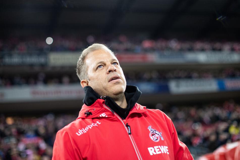 Kölns Trainer Markus Anfang (44) steht unter Druck.