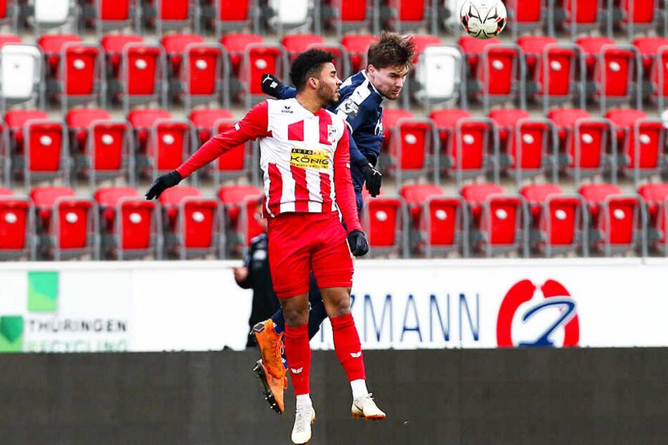 Darryl Geurts spielte in der abgelaufenen Saison beim FC Rot-Weiß Erfurt.