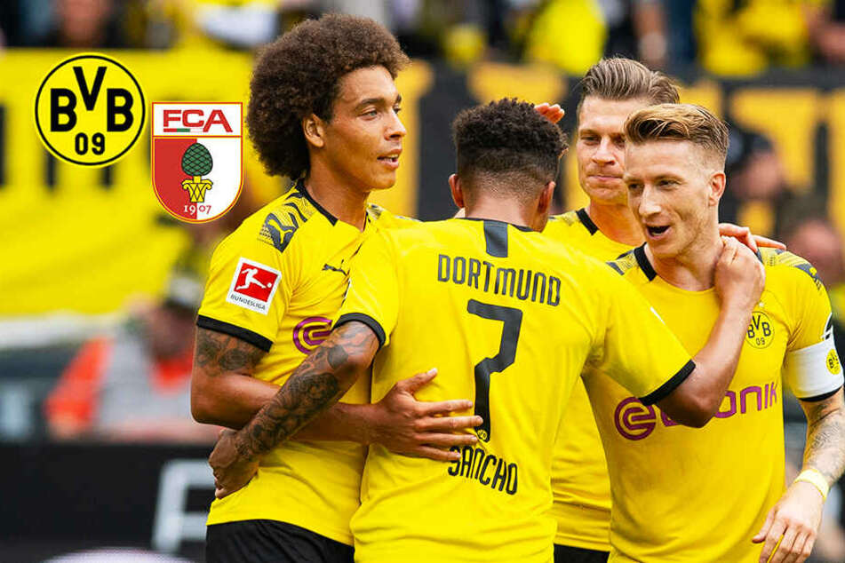 BVB-Kantersieg: Dortmund nimmt Augsburg auseinander!