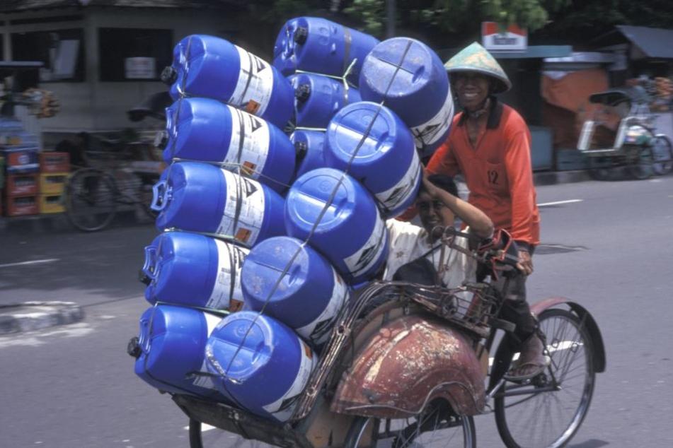 Im asiatischen Raum wird Verkehrssicherheit nicht gerade groß geschrieben.