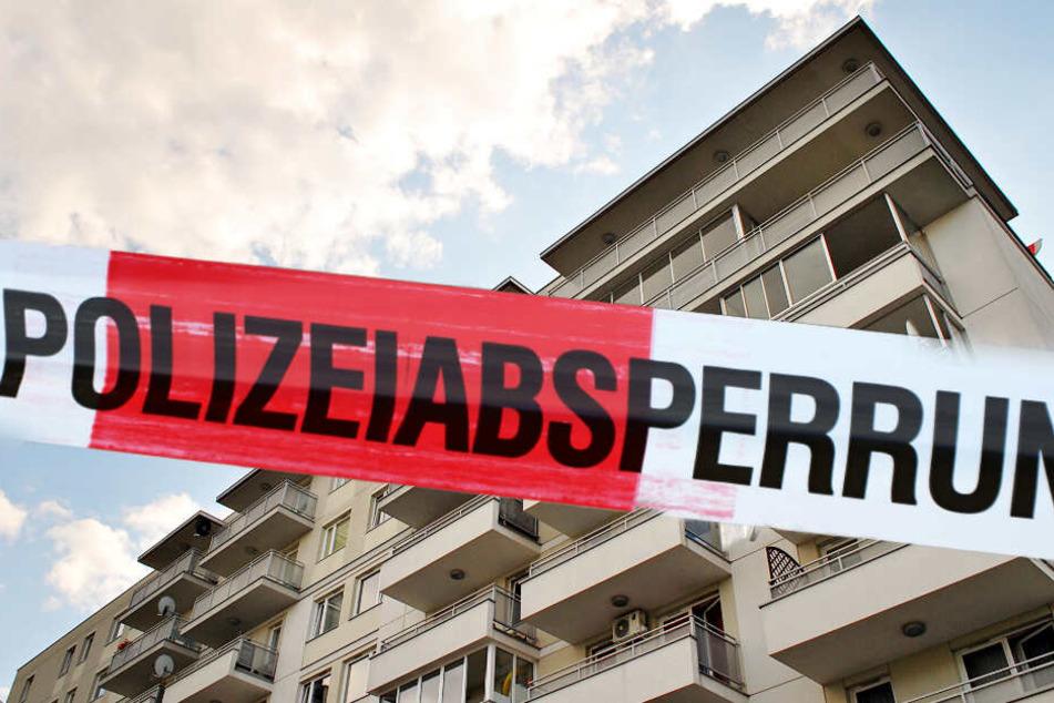 In Leipzig ist ein Mann bei Balkonarbeiten in die Tiefe gestürzt. (Symbolbild)