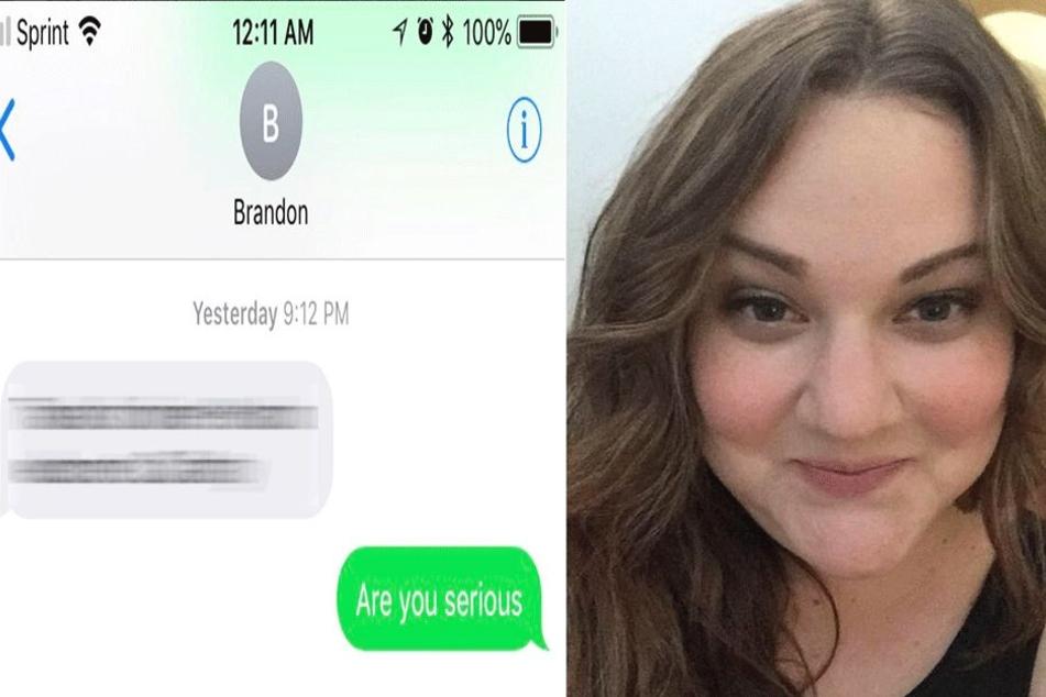 Mann geht beim Date zur Toilette: Kurz darauf bekommt sie eine unfassbare SMS