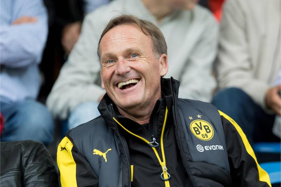 BVB-Boss Watzke lästert über RB.