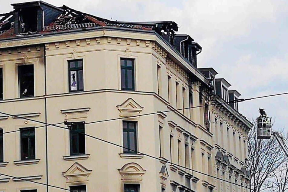 Ermittlungsarbeiten in Leipziger Brandruine können weitergehen