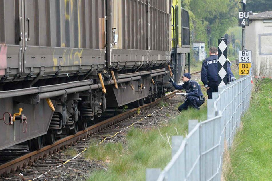 Die Polizei Gütersloh war vor Ort zur Unfallaufnahme.