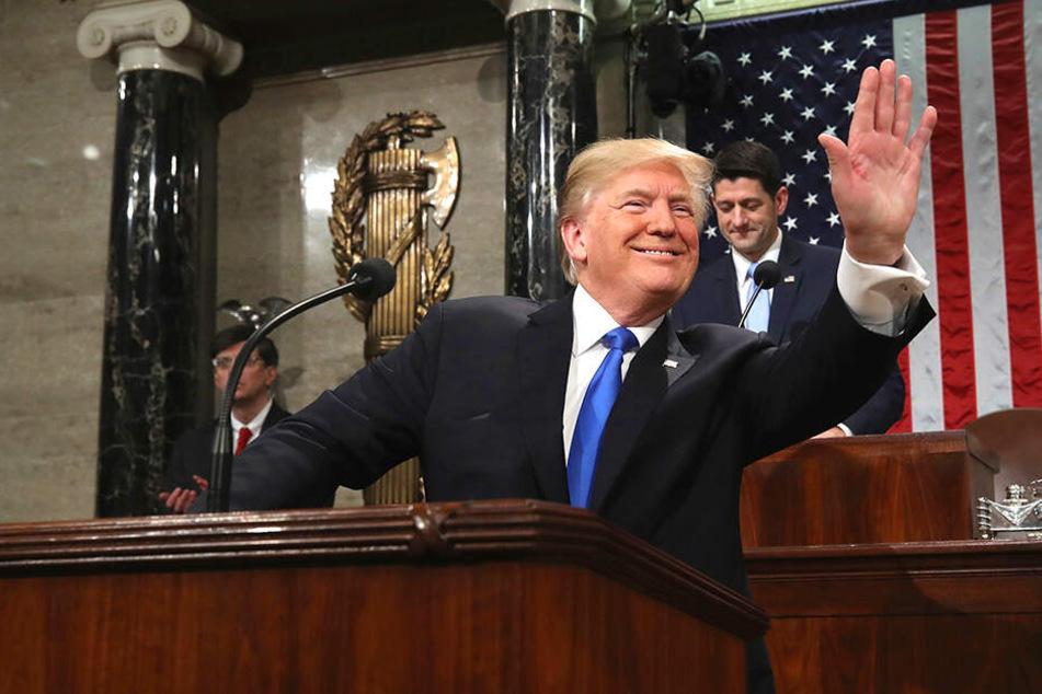 Donald Trump hat gut lachen...