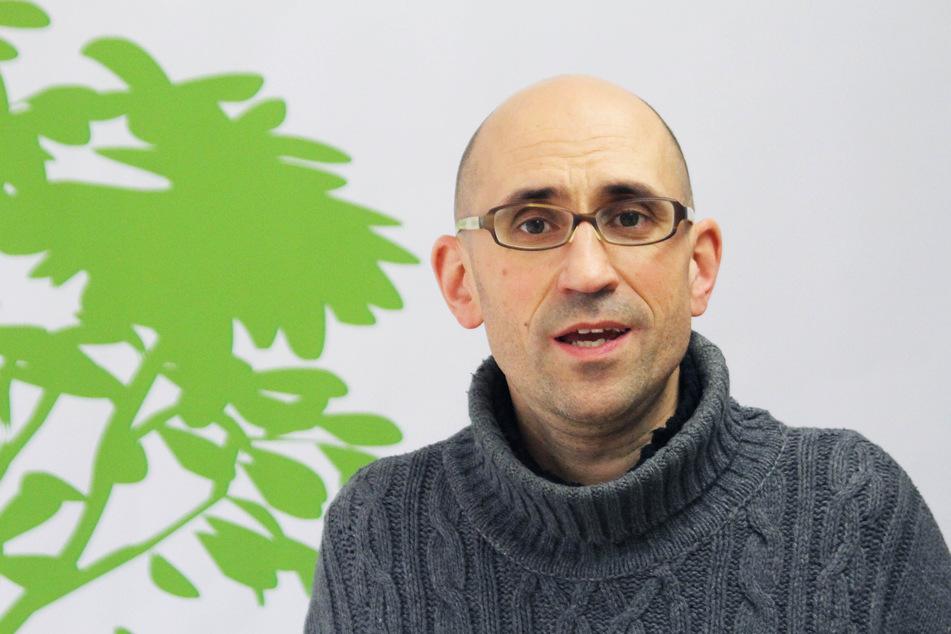 Der Vorsitzende des BUND Sachsen Felix Ekardt (49).