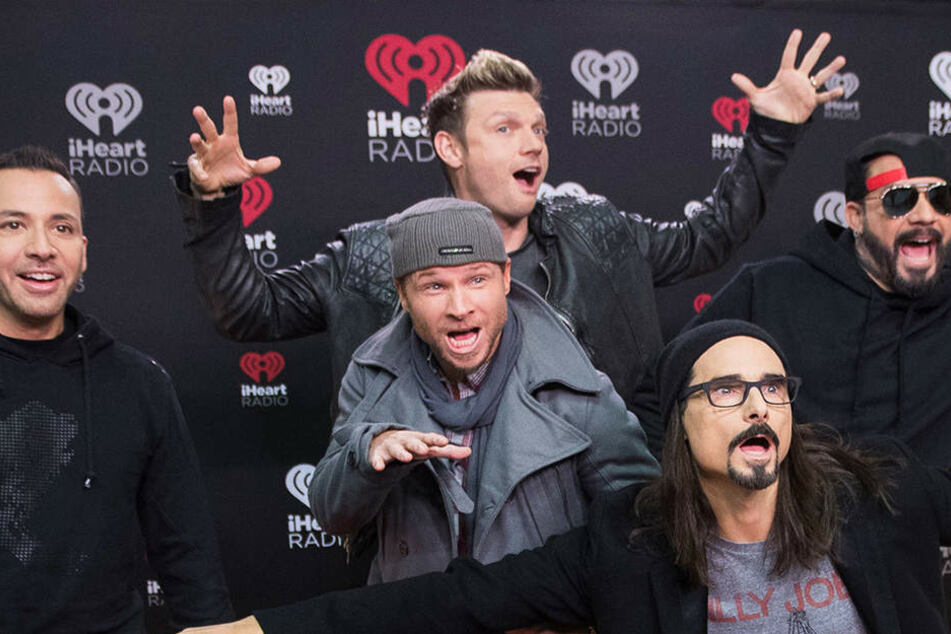 Die Backstreet Boys Howie Dorough, Brian Littrell Nick Carter Kevin Richardson und Alexander James McLean