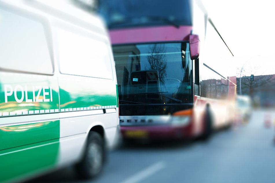 Hätten Fahrgäste und der Busfahrer nicht beherzt eingegriffen, wäre der Bus mit schwerwiegenden Folgen verunglückt. (Symbolbild)