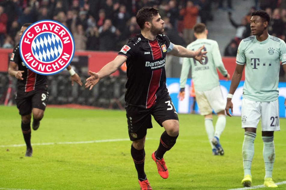 Sensation! Bayern kassiert bittere Pleite gegen Leverkusen