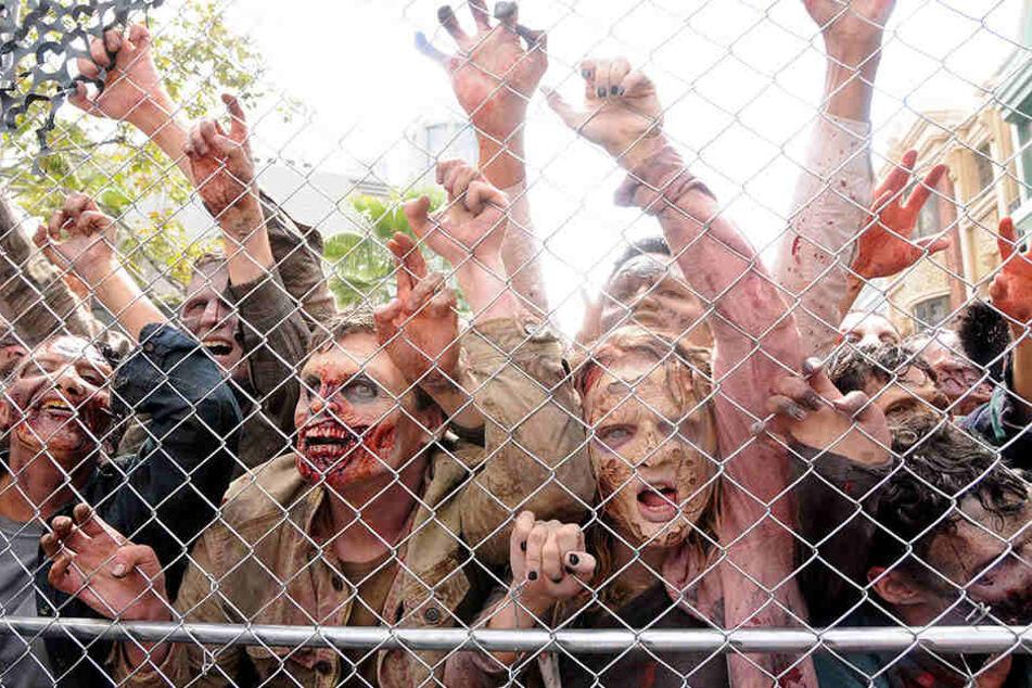 In der neuen Staffel werden wieder massenweise Zombies am Start sein.