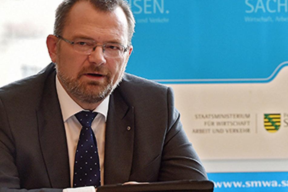 Sachsens Arbeitsagentur-Chef Klaus-Peter Hansen (54).