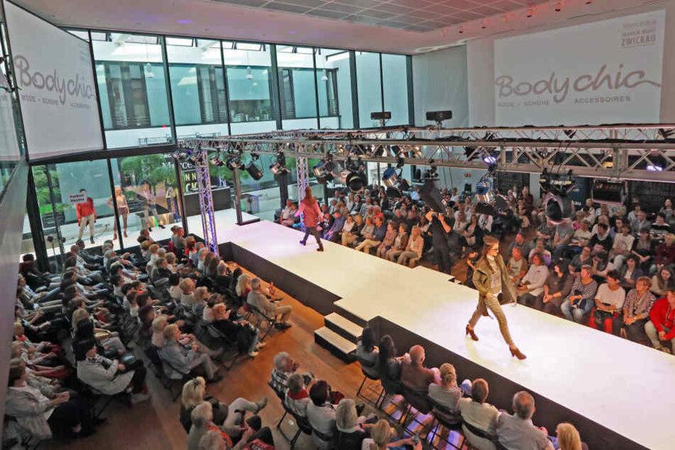 """Bei der """"Mercedes Fashion-Night"""" dreht sich alles um schicke Mode."""