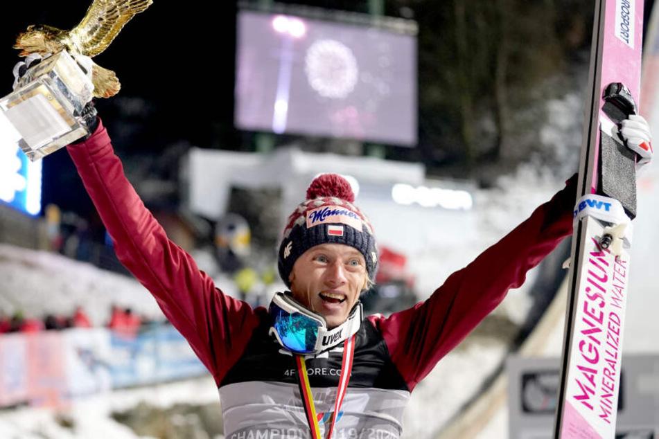 Dawid Kubacki holte sich den Tagessieg.