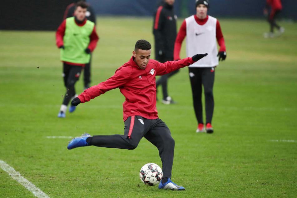 Tyler Adams steht vor seinem ersten Einsatz für den neuen Klub RB Leipzig.
