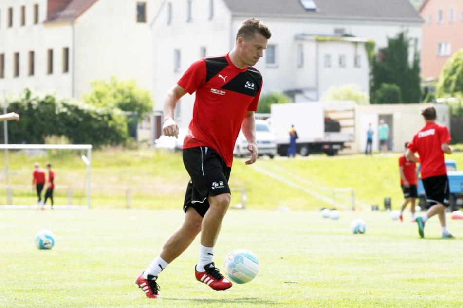 Schon am Freitagabend wird Wolf wieder für den FSV Zwickau auflaufen.