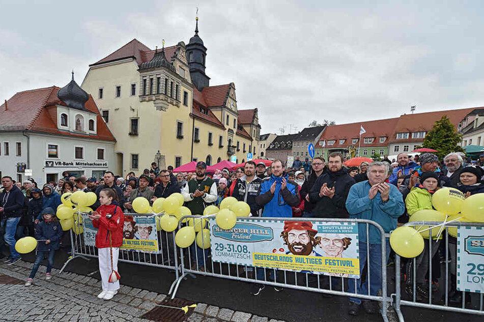 600 Besucher kamen zur Eröffnung nach Lommatzsch.