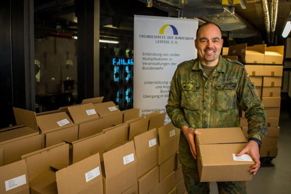 Leipzig sucht Weihnachtspaten für unsere Soldaten im Ausland