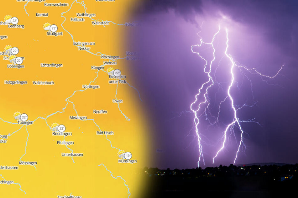 Gewitter und Sturm-Böen: Auf dieses Wetter müsst Ihr Euch jetzt einstellen