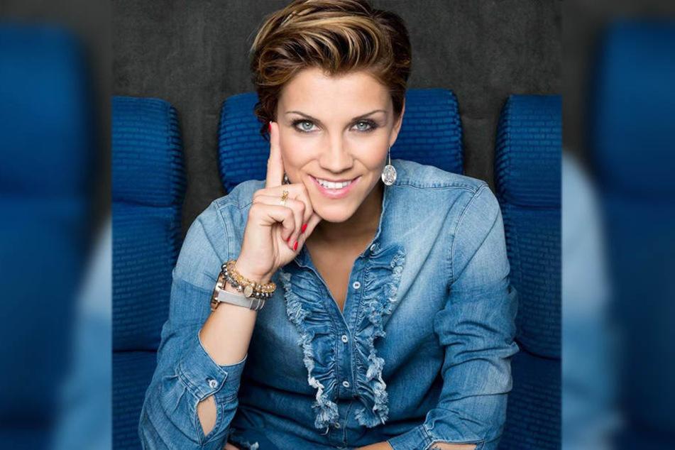 Anna-Maria Zimmermann hat gerade erst ihr neues Album veröffentlicht.