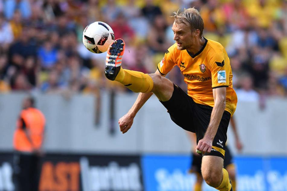 Konnte sich ztotz vielversprechenden Referenzen nie ganz durchsetzen bei Dynamo: Tim Väyrynen.