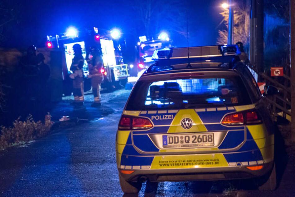 Gegen 17 Uhr fand die Polizei eine Leiche in einem Beuthaer Dorfbach.