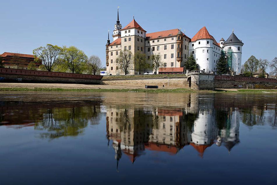 Schloss Hartenfels. Hier leben Bea, Benno und Jette.