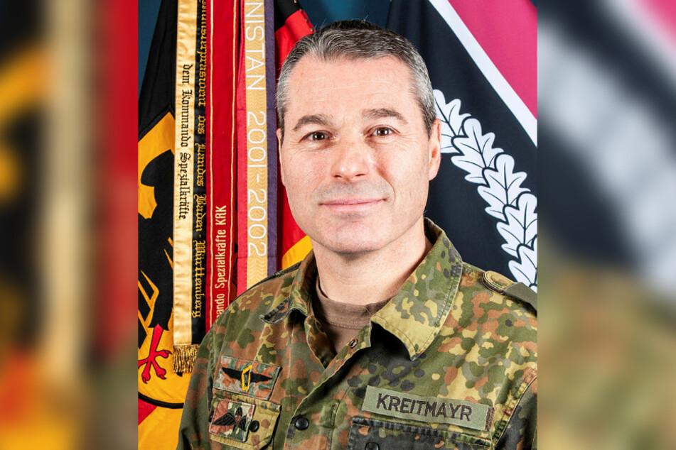 Brigadegeneral Markus Kreitmayr (52) ist der Kommandeur des KSK.