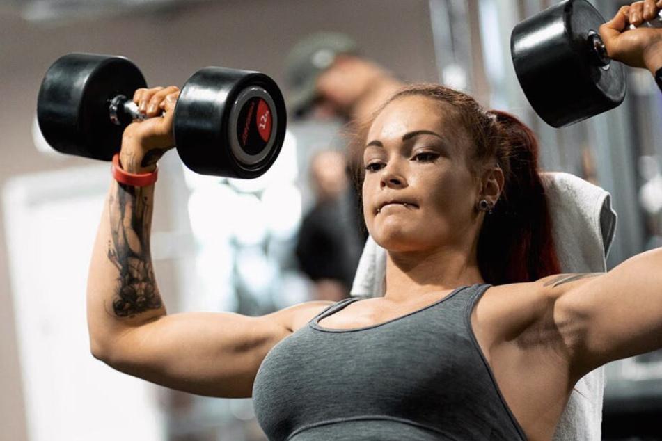Durch ihre informativen Fitness-Posts, wurde die Studentin bekannt.