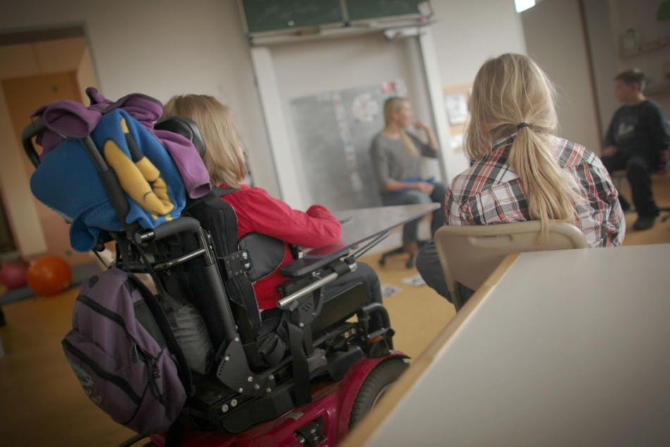 In Hessen werden die wenigsten Schüler mit und ohne Handicap gemeinsam unterrichtet. (Symbolbild)