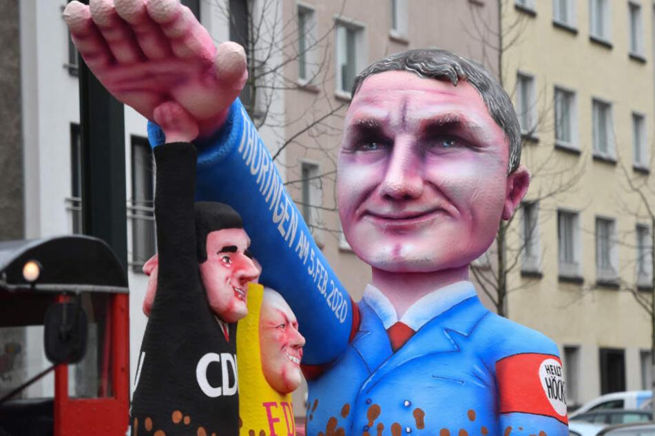 """""""Heilt Höcke"""" und die AfD: Klare Haltung im Karneval gegen Rassisten"""