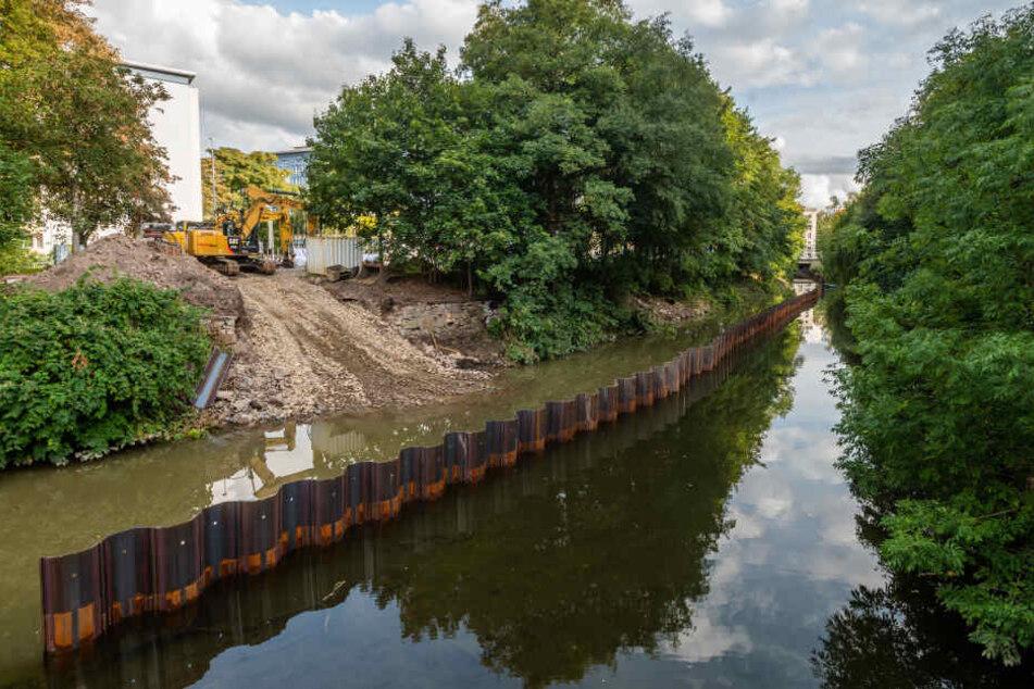 Chemnitz: Freistaat beseitigt letzte Hochwasserschäden in Chemnitz