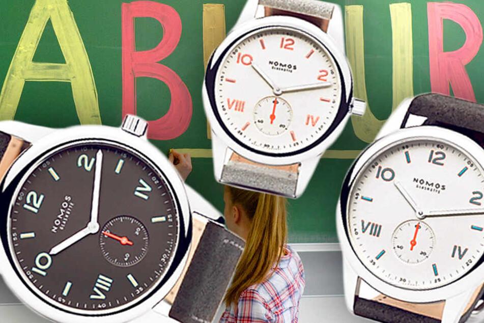 Edles Geschenk fürs Leben: Glashütte bringt Abi-Uhr raus!