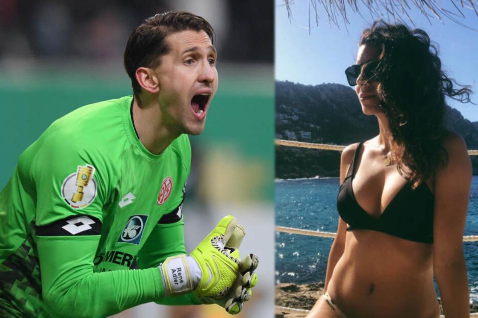 Ex-Bundesliga-Keeper René Adler und Lilli Hollunder erwarten Nachwuchs