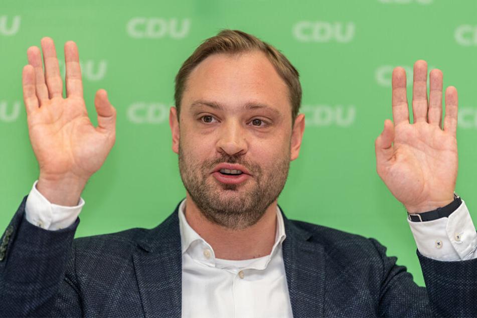 CDU-Generalsekretär Alexander Dierks (31, CDU).