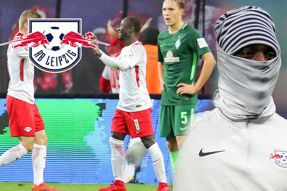 Wieder Zweiter! RB Leipzig zittert sich zum Sieg in der Kältekammer