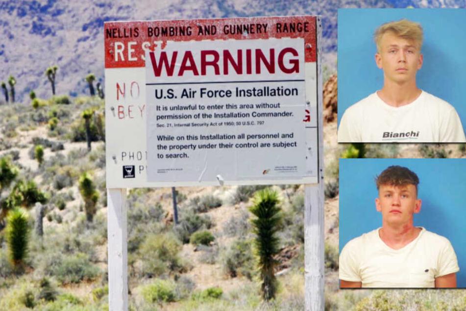 Junge Männer suchen Area 51 und werden direkt inhaftiert