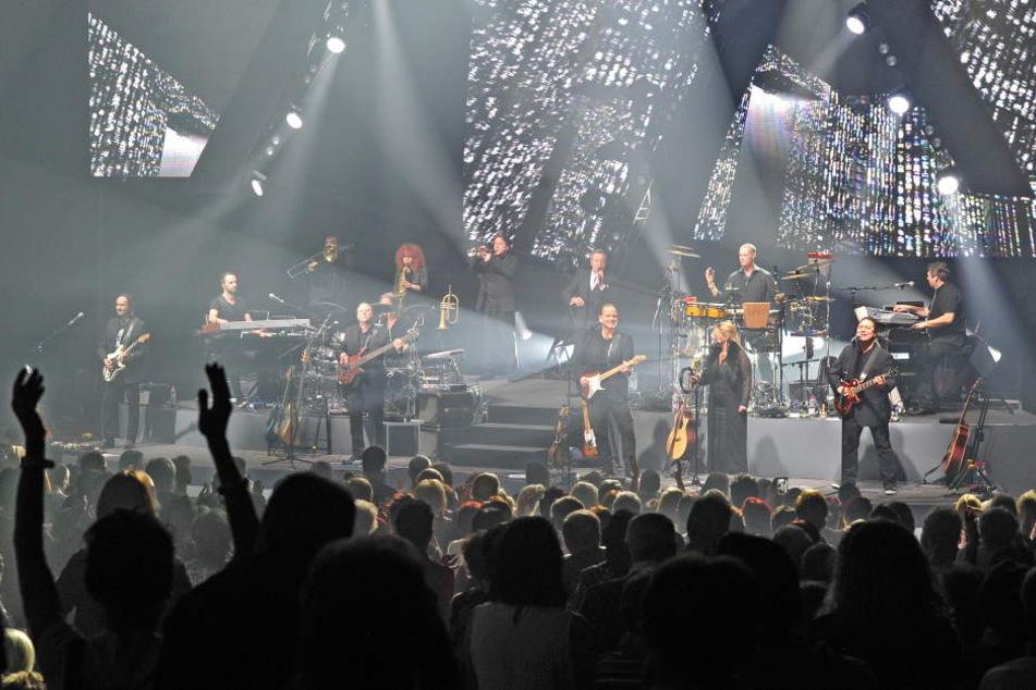 Die Fans feierten in der Chemnitzer Stadthalle mit ihrem Idol.