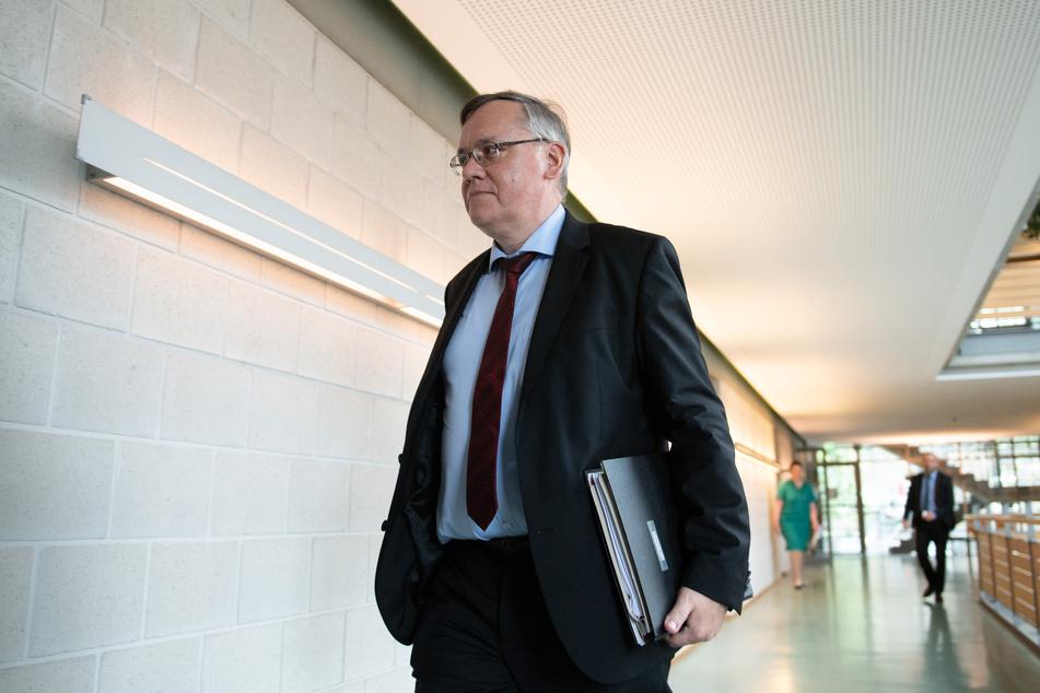 Seit Anfang Juli ist Dirk-Martin Christian Präsident des sächsischen Verfassungsschutzes.