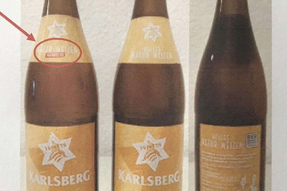Bier wegen möglicher Verwechslungsgefahr zurückgerufen