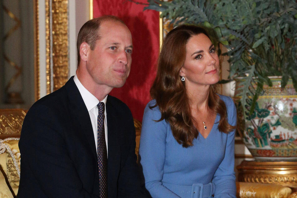 Prince William (38) and Kate Middleton (38), the Duke and Duchess of Cambridge