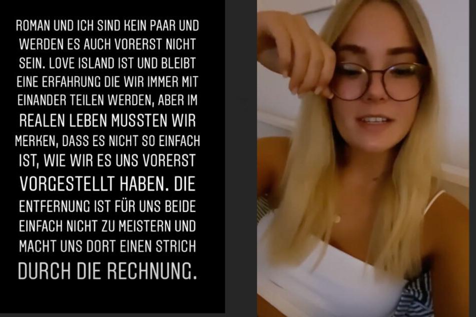 Die 22-Jährige redete Klartext bei Instagram.