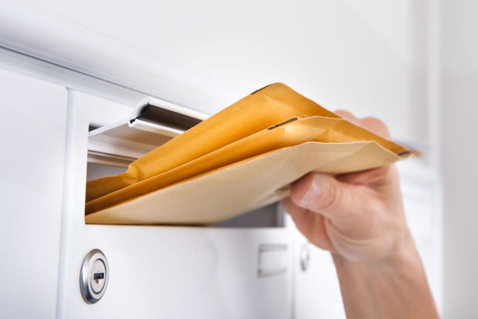 Im Landratsamt wurde ein verdächtiger Brief gefunden.