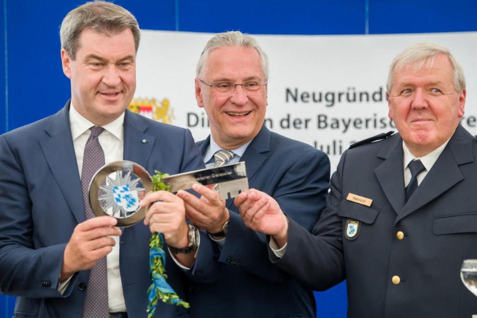 Markus Söder (l.) gab die Einigung am Samstag bekannt.