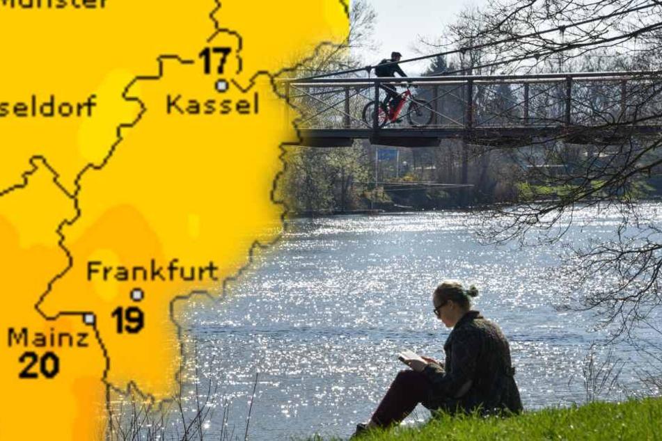 Sonne satt! Dieses Wochenend-Wetter lockt ganz Hessen nach draußen